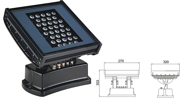 Led DMX argia,LED uholde argia,108W 216W LED koordenatu karratua 1, LWW-7-36P, KARNAR INTERNATIONAL GROUP LTD