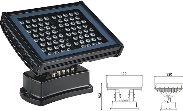 Led DMX argia,LED uholde argia,108W 216W LED koordenatu karratua 2, LWW-7-72P, KARNAR INTERNATIONAL GROUP LTD