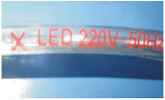Guangdong dipimpin pabrik,LED lampu tali,110 - 240V AC SMD 5050 Led strip light 11, 2-i-1, KARNAR INTERNATIONAL GROUP LTD