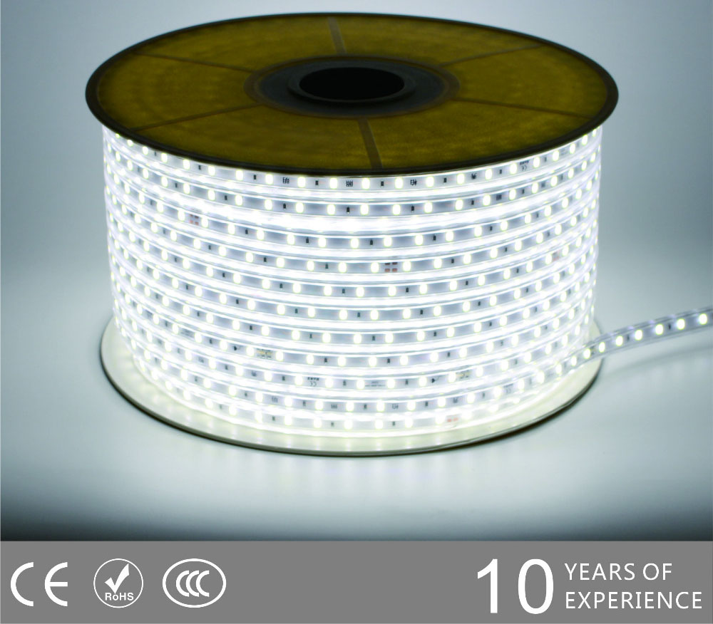 Guangdong vodio tvornicu,na vrpcu,240V AC Nema kabela SMD 5730 LED ROPE SVJETLO 2, 5730-smd-Nonwire-Led-Light-Strip-6500k, KARNAR INTERNATIONAL GROUP LTD