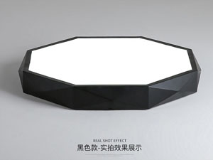 Guangdong dipimpin pabrik,Warna Macarons,15W Hexagon ngetokake lampu langit-langit 2, blank, KARNAR INTERNATIONAL GROUP LTD