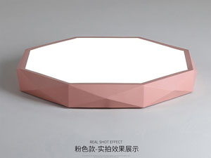 Guangdong dipimpin pabrik,Warna Macarons,15W Hexagon ngetokake lampu langit-langit 3, fen, KARNAR INTERNATIONAL GROUP LTD