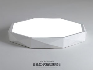 Guangdong dipimpin pabrik,Warna Macarons,15W Hexagon ngetokake lampu langit-langit 5, white, KARNAR INTERNATIONAL GROUP LTD