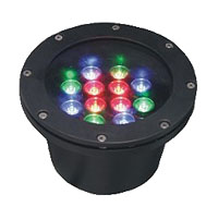 Guangdong dipimpin pabrik,Lampu LED Fountain,3W Circular buried lights 5, 12x1W-180.60, KARNAR INTERNATIONAL GROUP LTD