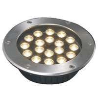 Guangdong dipimpin pabrik,Lampu LED Fountain,3W Circular buried lights 6, 18x1W-250.60, KARNAR INTERNATIONAL GROUP LTD