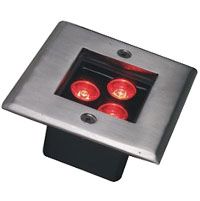 Guangdong dipimpin pabrik,LED dikubur cahya,24W Square Buried Light 5, 3x1w-105.105.60, KARNAR INTERNATIONAL GROUP LTD