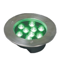 Guangdong dipimpin pabrik,LED jagung lampu,1W Circular buried lights 4, 9x1W-160.60, KARNAR INTERNATIONAL GROUP LTD
