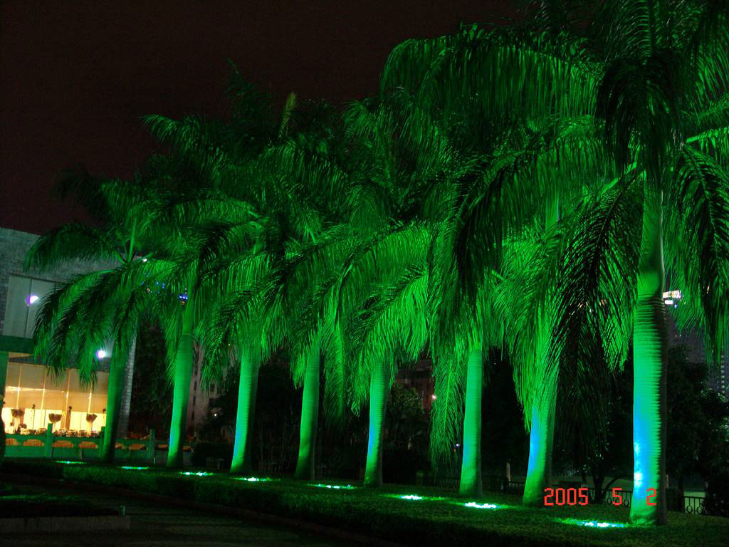 Guangdong dipimpin pabrik,LED jagung lampu,1W Circular buried lights 8, Show2, KARNAR INTERNATIONAL GROUP LTD