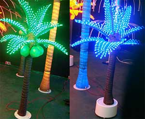 Luz LED de palma de coco KARNAR INTERNATIONAL GROUP LTD