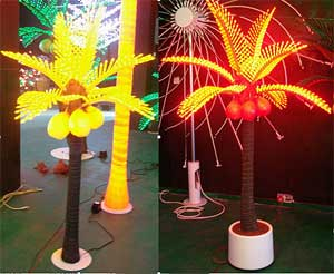 Чароғҳои Coconut palm LED KARNAR INTERNATIONAL GROUP LTD